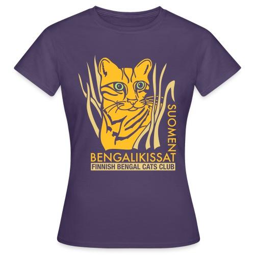 Bengaliligo mustalle - Naisten t-paita