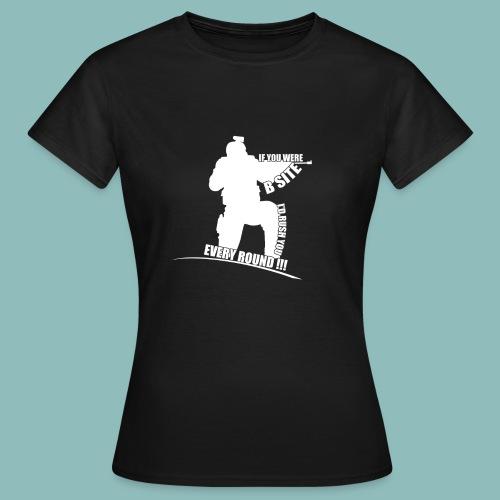 I'd rush you! White Version - Frauen T-Shirt