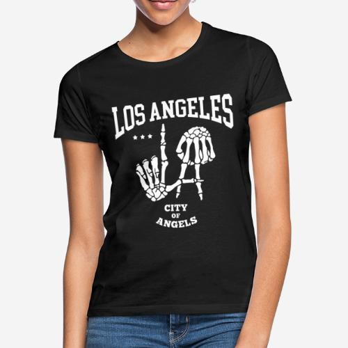los angeles la city of angels - Frauen T-Shirt