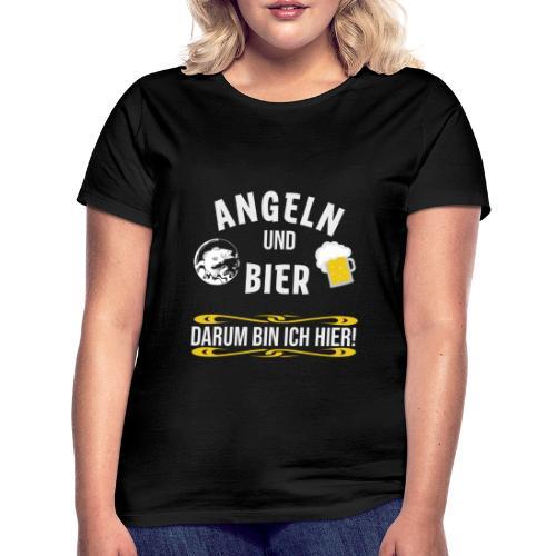Angler angeln Sportfischer Fischer Angelhobbie Fun - Frauen T-Shirt