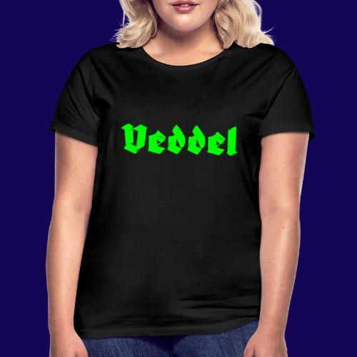 Veddel Fraktur-Typo: Die Hamburger Elbinsel! - Frauen T-Shirt