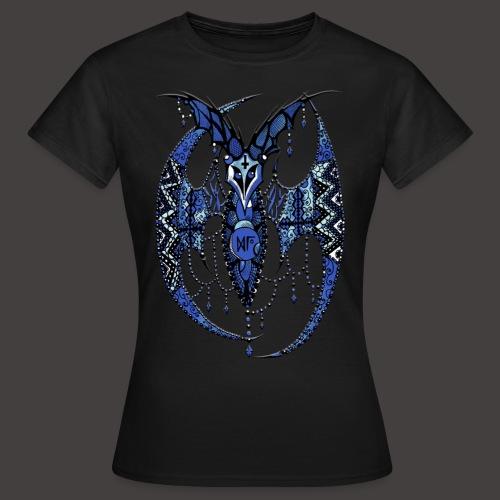 Chauve Souris Dentelle Bleue - T-shirt Femme