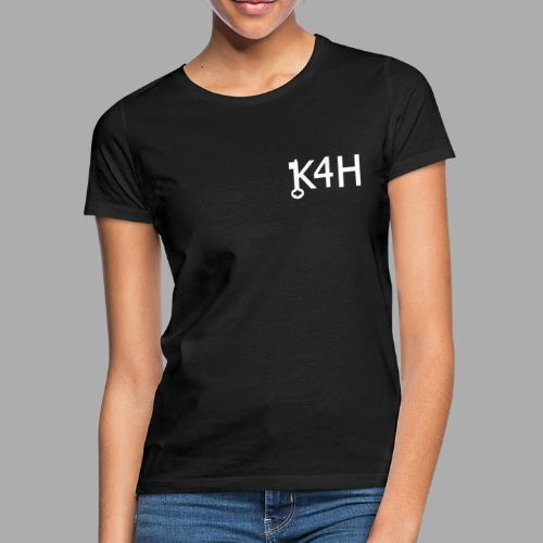 K4HText2White - T-shirt dam