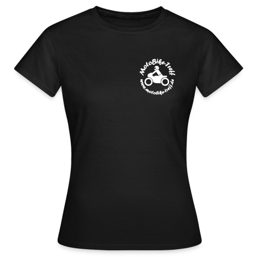 logoblack bereinigt 8 - Frauen T-Shirt