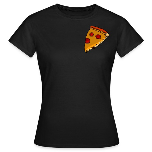 pizza - Dame-T-shirt