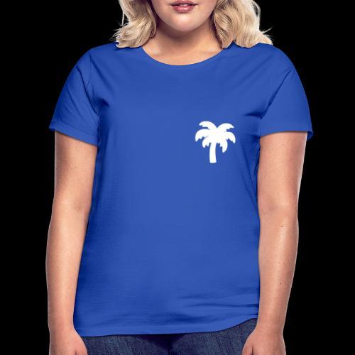 Palm Basic White - Dame-T-shirt