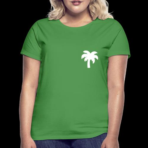 Palm Basic White - Dame-T-shirt