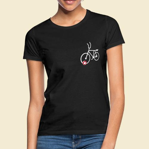Radball | Cycle Ball Polo white - Frauen T-Shirt