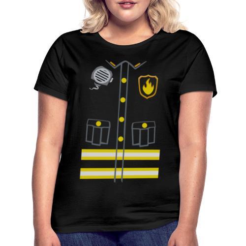 Kids Fireman Costume - Dark edition - Women's T-Shirt