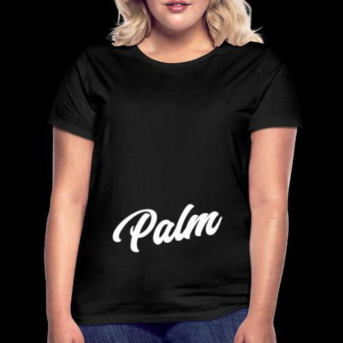 Palm Exclusive White - Dame-T-shirt