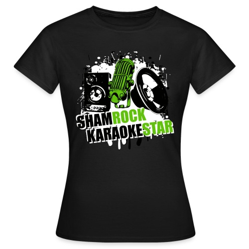 Shamrock KaraokeStar - Frauen T-Shirt