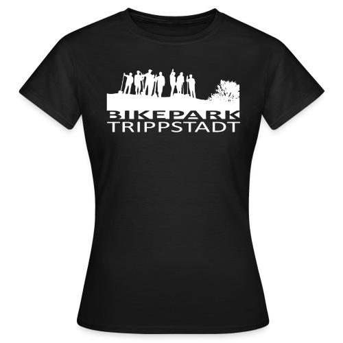 Bikepark staff in weiß - Frauen T-Shirt