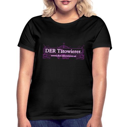 DER Taetowierer Logowear - Frauen T-Shirt