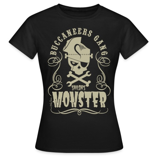 logo buccanners - Camiseta mujer