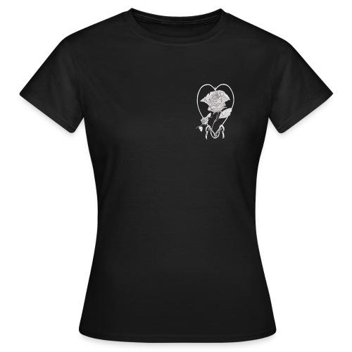 rose de cœur - T-shirt Femme
