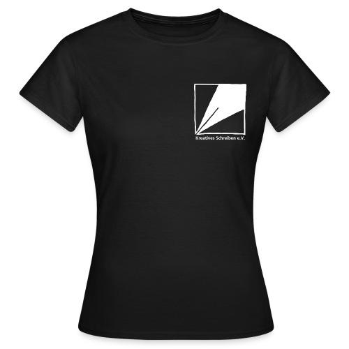 logo weiss - Frauen T-Shirt