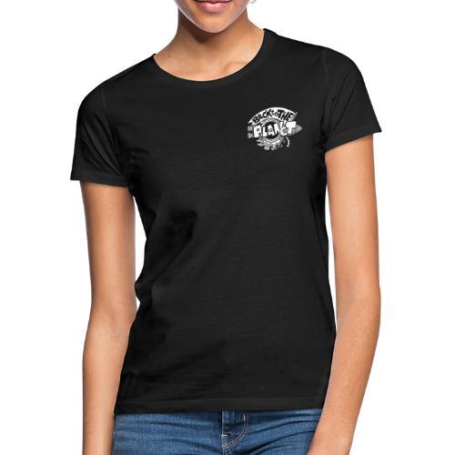 Back To The Planet Original Logo - Women's T-Shirt