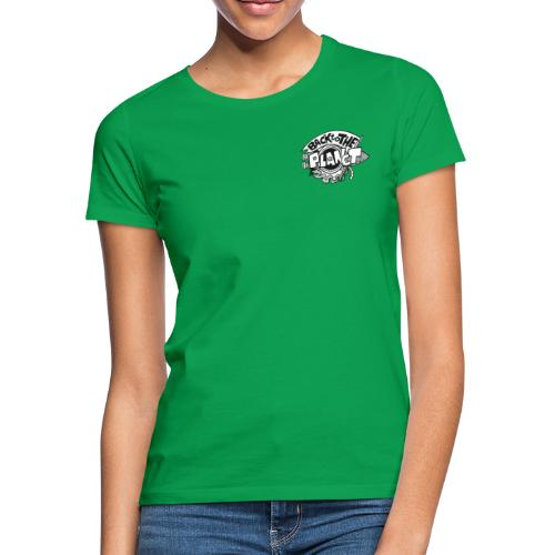Back To The Planet Original Logo - Women's T-Shirt