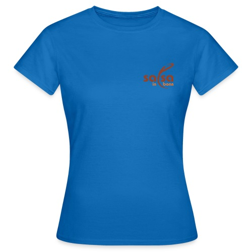 Salsa in Bonn Logo - Frauen T-Shirt