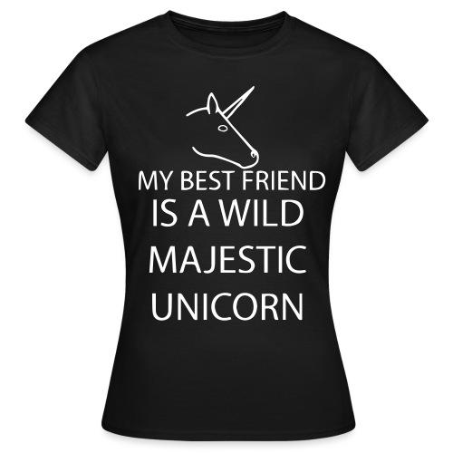 SPRUCH  BEST FRIEND  - Frauen T-Shirt