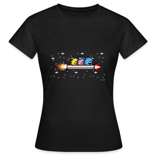 Raketenritt - Frauen T-Shirt