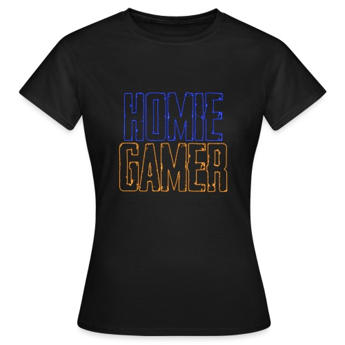 Hømie Gamer Klær (Neon Stil) - T-skjorte for kvinner