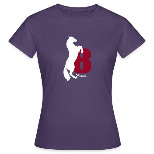 White_18Horses - T-shirt dam