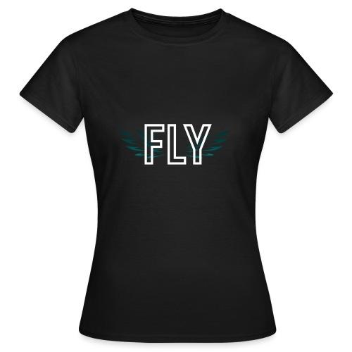 Wings Fly Design - Women's T-Shirt