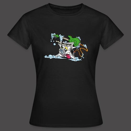 Wicked Washing Machine Wasmachine - Vrouwen T-shirt
