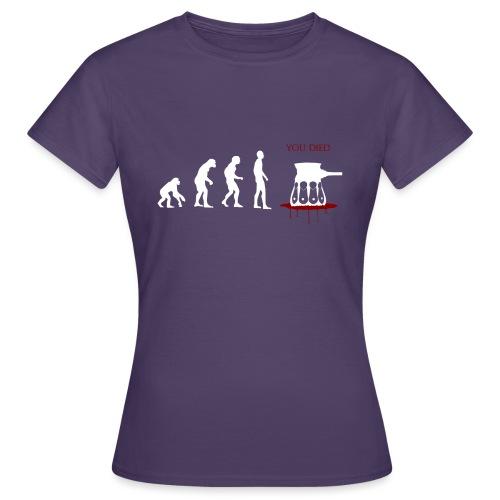 Evoluti...Ops - Maglietta da donna