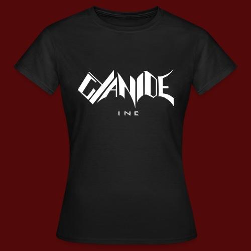 Logo Cyanide Inc - T-shirt Femme