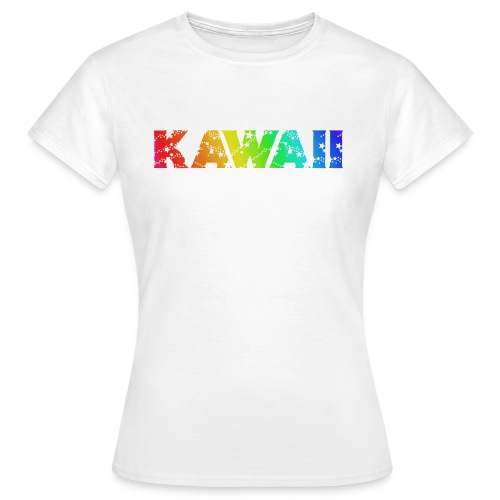 Kawaii rainbow - Women's T-Shirt