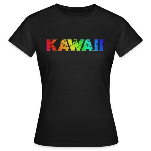 Kawaii rainbow - Women's T-Shirt