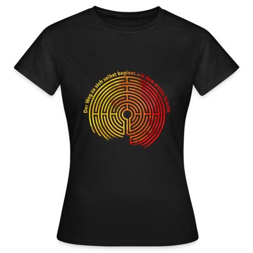 Der Weg zu sich selbst - Frauen T-Shirt
