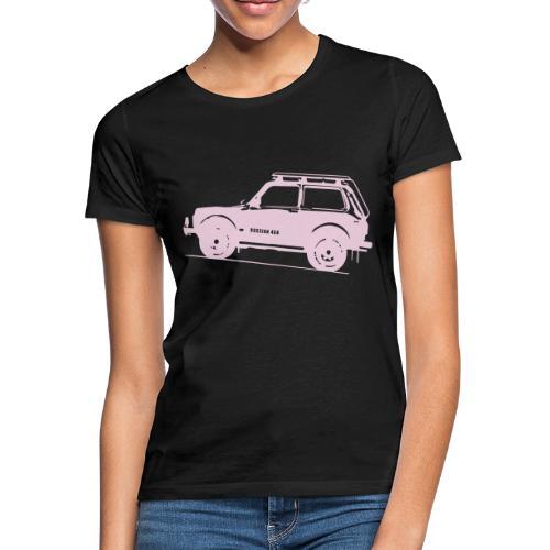 Lada Niva 2121 Russin 4x4 - Frauen T-Shirt