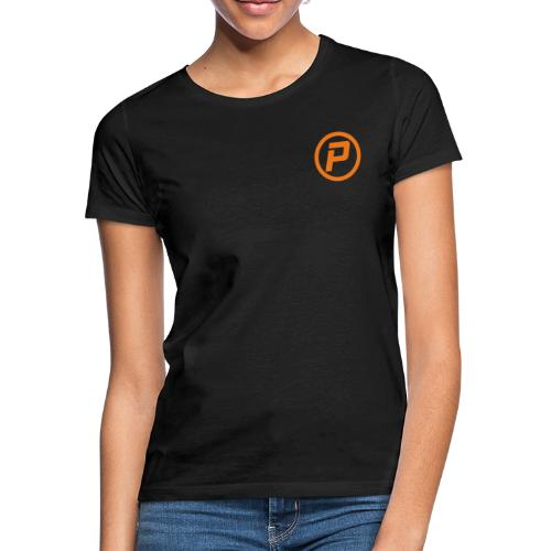 Polaroidz - Small Logo Crest | Orange - Women's T-Shirt
