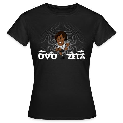 Uvuzela weiß - Frauen T-Shirt