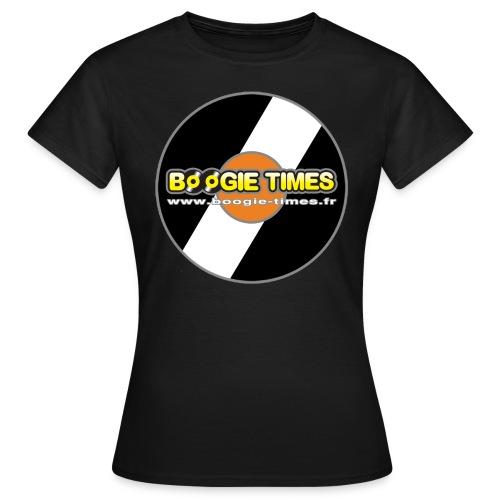 BOOGIE TIMES CLASSIC VINYL - Women's T-Shirt