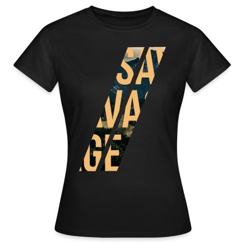 //Savage - Maglietta da donna