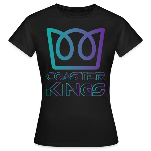 Coaster Kings on the Grid - Women's T-Shirt