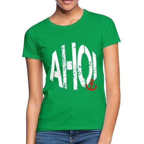 LIMITED AHOI Schriftzug - Frauen T-Shirt