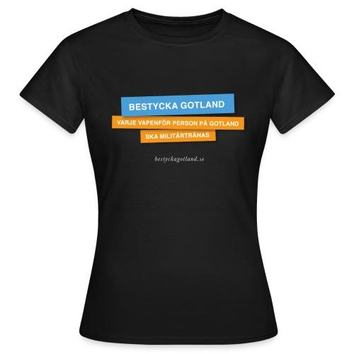Bestycka Gotland - T-shirt dam