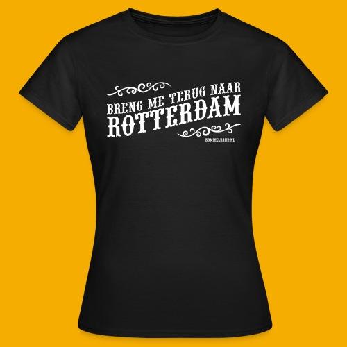 pet terug wt - Vrouwen T-shirt