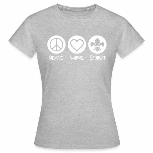 Peace Love Scout - T-shirt Femme