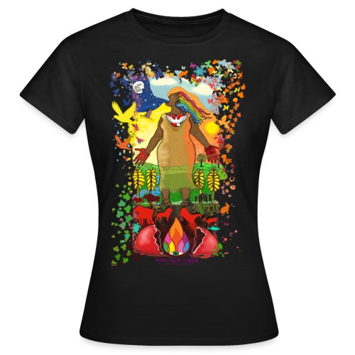 Mother Earth Creating - Vrouwen T-shirt