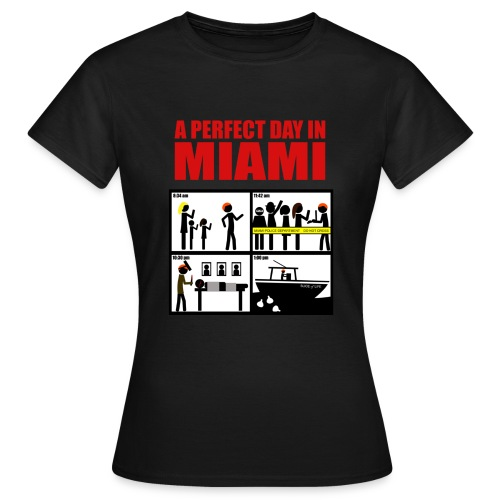 Dexter a perfect day in Miami - Camiseta mujer