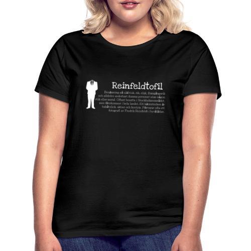 Reinfeldtofil - T-shirt dam