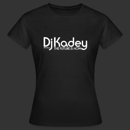 White Dj Kadey Logo - T-shirt Femme