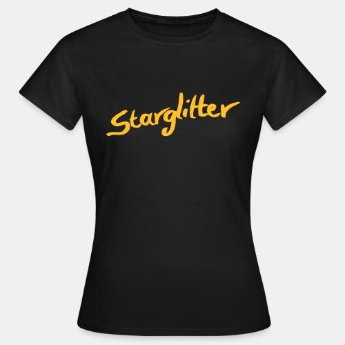 Starglitter - Lettering - Women's T-Shirt
