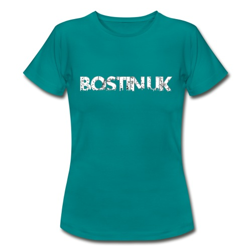 bostin uk white - Women's T-Shirt